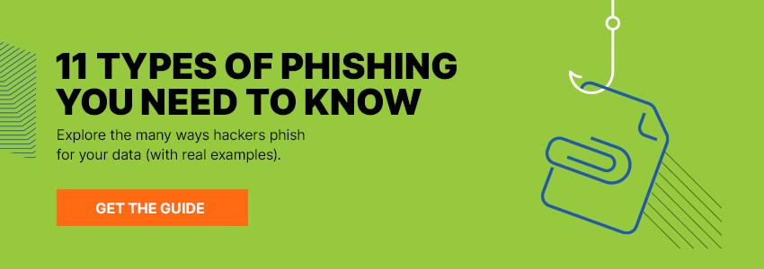 11 Types of Phishing Ebook
