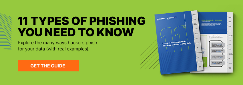 11 Types of Phishing Ebook