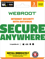 Webroot Internet Security Download Card