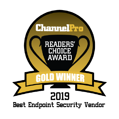2019 ChannelPro - Best Endpoint Security Vendor