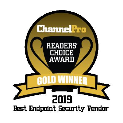 2019 ChannelPro - Best Endpoint Security Vendor