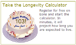 Longetivity Calculator