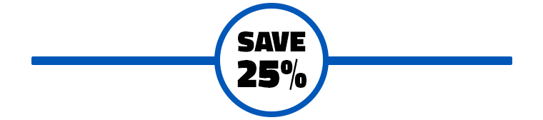 Save 25% Promo Image