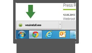download webroot to new computer