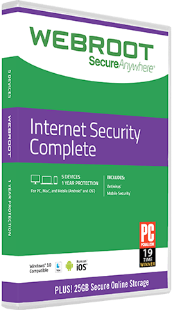 SecureAnywhere ® Internet Security Complete