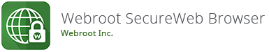 Webroot SecureWeb Browser Android App